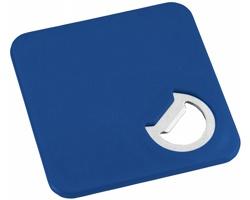 Plastový tácek CERED s integrovaným otvírákem - královská modrá