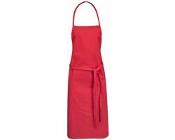 Bavlněná kuchyňská zástěra DROVE - červená