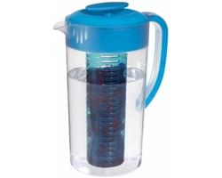 Plastový džbán ACINI pro přípravu ovocných nápojů, 2l - transparentní čirá