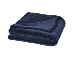 Hebká a plyšová deka Seasons BAY v dárkovém obalu - tmavě modrá