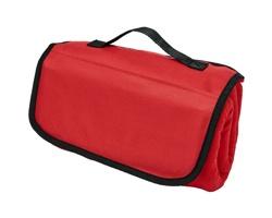 Polyesterová cestovní deka BREW - červená