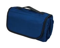 Polyesterová cestovní deka BREW - námořní modrá
