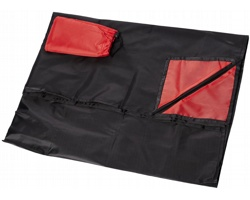Polyesterová pikniková podložka PEERS - červená