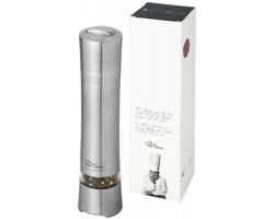 Elektrický mlýnek na pepř s keramickým drtičem Paul Bocuse SOLO v dárkovém balení - stříbrná