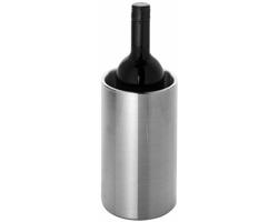Nerezový chladič vína MINT - stříbrná
