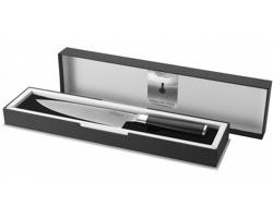 Nerezový kuchařský nůž Paul Bocuse FINESSE CHEFS KNIFE v dárkové kazetě - černá / stříbrná