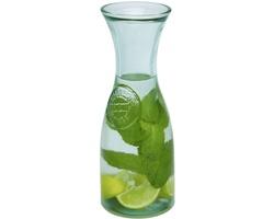 Skleněná karafa TIBBIE z recyklovaného skla, 800 ml - transparentní čirá