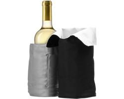 Skládací chladicí obal na víno SVALARI - černá / bílá