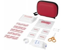 Cestovní sada první pomoci PANSY se 14 doplňky - červená / bílá