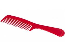 Plastový hřeben SUMMERDALE - červená