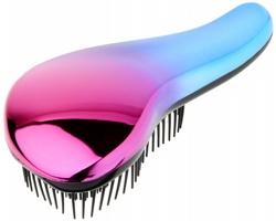 Rozčesávací kartáč na vlasy BONUM - purpurová