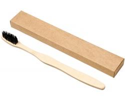 Bambusový zubní kartáček PRIG - černá