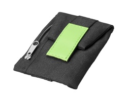 Textilní peněženka ANNAS - jemně zelená