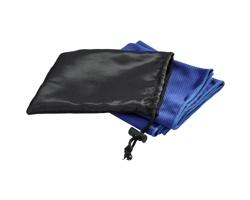 Chladivý ručník INORG v síťovaném sáčku - královská modrá