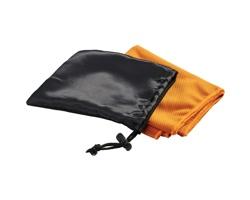 Chladivý ručník INORG v síťovaném sáčku - oranžová