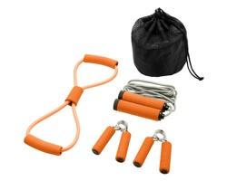 Sada pomůcek na cvičení GOLEM - oranžová