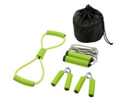 Sada pomůcek na cvičení GOLEM - jemně zelená