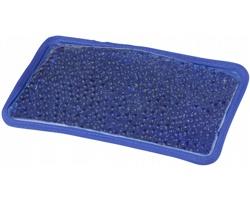 Gelový balíček COOLHOT s plyšovou podložkou pro hřejivé i chladivé použití - královská modrá