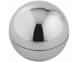 Vanilkový balzám na rty PIETAS v plastovém metalickém obalu - stříbrná