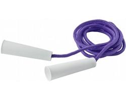 Polyesterové barevné švihadlo TOUTLE, délka 2 metry - purpurová