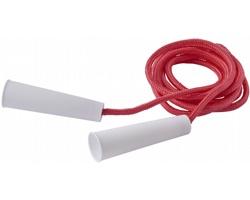 Polyesterové barevné švihadlo TOUTLE, délka 2 metry - červená