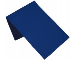 Polyesterový fitness ručník ARIA s chladivým efektem - královská modrá