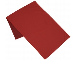 Polyesterový fitness ručník ARIA s chladivým efektem - červená