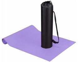 Podložka na jógu a fitness ASANA s pouzdrem - purpurová