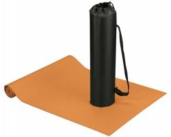 Podložka na jógu a fitness ASANA s pouzdrem - oranžová