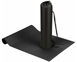 Podložka na jógu a fitness ASANA s pouzdrem - černá