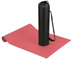 Podložka na jógu a fitness ASANA s pouzdrem - červená