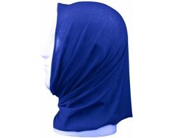 Polyesterový multifunkční šátek KIRLIAN - modrá