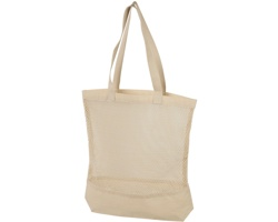 Velká bavlněná síťová taška CABIN - přírodní