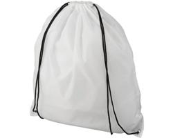Šňůrkový batoh LYING vyrobený z recyklovaného PET materiálu - bílá