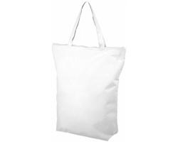 Nákupní taška WADIS se zapínáním na zip - bílá