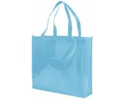 Laminovaná nákupní taška CIRCA z netkané textilie - modrá