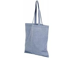 Bavlněná nákupní taška SHOER s dlouhými uchy - modrá