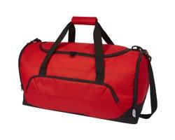 Sportovní taška LEONOR z recyklovaného materiálu - červená