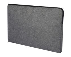 Polyesterový obal na notebook KNAVE - šedý melír