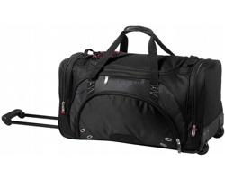 Velká cestovní taška Elleven PROTON WHEELED DUFFEL BAG na kolečkách - černá