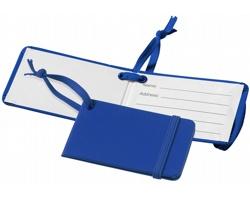 Visačka na zavazadlo RBIS s elastickým uzávěrem - královská modrá