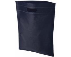 Netkaná kongresová taška LINTY s vyseknutou rukojetí - námořní modrá