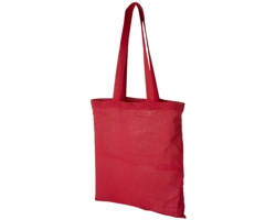 Bavlněná nákupní taška VIAL - červená