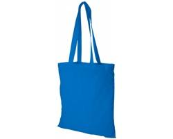 Bavlněná nákupní taška VIAL - modrá