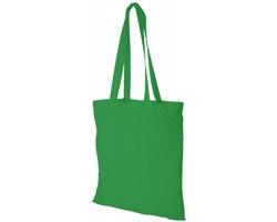 Bavlněná nákupní taška VIAL - středně zelená