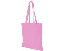 Bavlněná nákupní taška VIAL - růžová