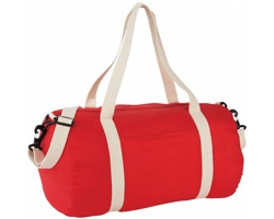 Bavlněná taška HERD s odepínacím popruhem - červená