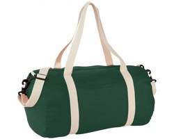 Bavlněná taška HERD s odepínacím popruhem - tmavě zelená