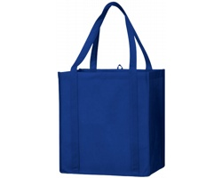 Netkaná prostorná taška na potraviny DUMBO - královská modrá