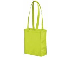 Netkaná nákupní taška SCARY s dlouhými uchy - jemně zelená